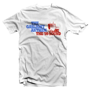 "The Gaslight Anthem ""The '59 Sound"" Camiseta Branca"