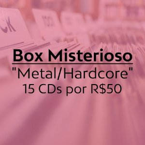 "Box Misterioso ""Metal/Hardcore"" 15xCDs"