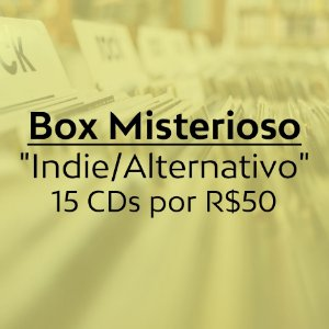 "Box Misterioso ""Indie/Alternativo"" 15xCDs"