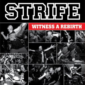 """Strife """"Witness A Rebirth"""" CD Digifile"""
