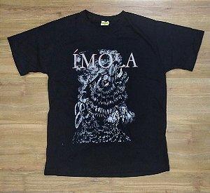 """Ímola """"Lobo"""" Camiseta Preta"""