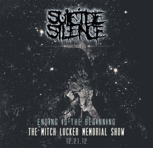 """Suicide Silence """"Ending Is The Beginning"""" CD"""