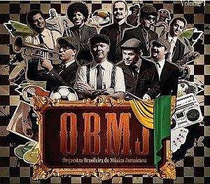 """Orquestra Brasileira de Música Jamaicana """"Vol. 1"""" CD Digipack"""