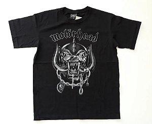 """Motörhead """"Classic"""" Camiseta Preta"""