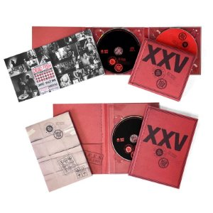 "Dead Fish ""XXV Ao Vivo em SP"" DVD Digipack + CD Digipack Duplo"