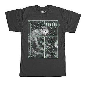 "Pixies ""Doolittle"" Camiseta Azul Petróleo"