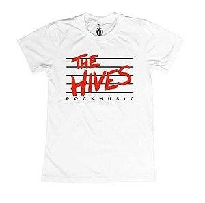 "The Hives ""Rock Music"" Camiseta Branca"