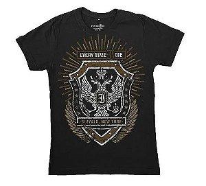 Every Time I Die - Eagle - Camiseta Preta