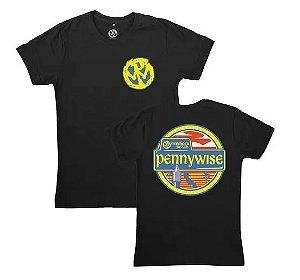 """Pennywise """"Hermosa Beach"""" Camiseta Preta"""