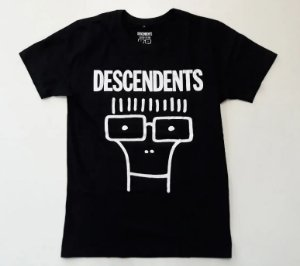 "Descendents ""Mile"" Camiseta Preta"