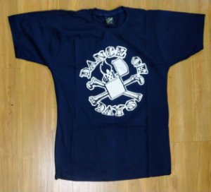 "Dance of Days ""Isqueiro 1997"" Camiseta Azul"