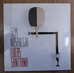 "Lucas Santtana ""Sem Nostalgia"" Vinil 12"" Preto"