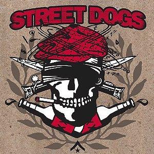 """Street Dogs """"Crooked Drunken Sons EP & The Rustbelt Nation EP"""" Vinil 10"""" Vermelho Translúcido"""