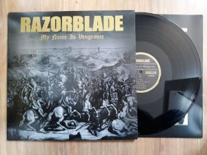 "Razorblade ""My Name Is Vengeance"" Vinil 12"""