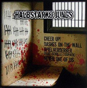 "Halbstarke Jungs / The Warriors Split Vinil 12"" Preto"