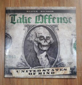 "Take Offense ""United States Of Mind"" Vinil 12"""