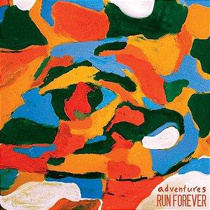 """Adventures & Run Forever Split Vinil 7"""""""