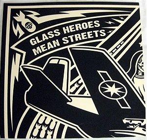 "Glass Heroes & Mean Streets Split Vinil 7"""