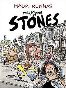 """Mauri Kunnas """"Mac Moose E Os Stones - Vol.1"""" Livro"""