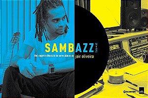 """Jair Oliveira """"Sambazz"""" CD Livro"""