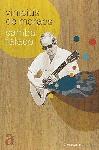 """Vinicius de Moraes """"Samba Falado - Crônicas Musicais"""" Livro"""