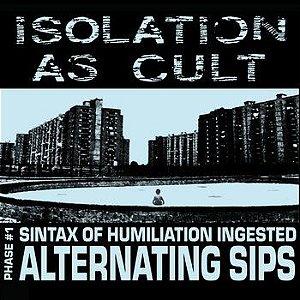 """Isolation As Cult & Aborticidio - Split Vinil 7"""" Verde"""
