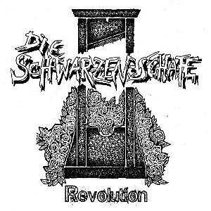 """Die Schwarzen Schafe """"Revolution"""" Vinil 7"""" Vermelho"""