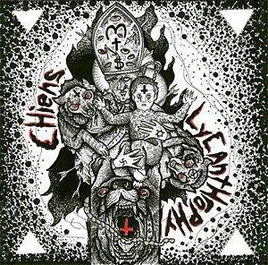 """Lycanthropy & Chiens Split Vinil 7"""" Transparente"""