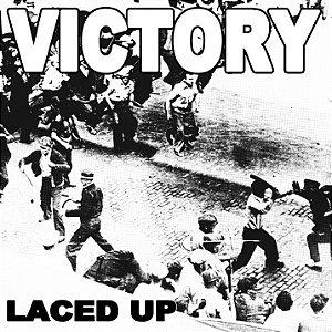 """Victory """"Laced Up"""" Vinil 7"""" Preto"""