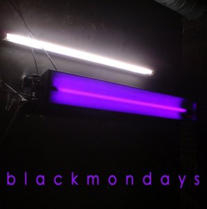 "Blackmondays ""S/T"" Vinil 7"" Preto"