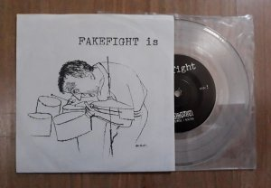 "Fakefight ""Is"" Vinil 7"" Transparente"
