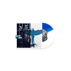 """Dead Fish & Zander Split Vinil 7"""" Azul e Branco"""