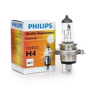 Lâmpada H4 ExtraDuty 35/35W Philips 12458MOTO