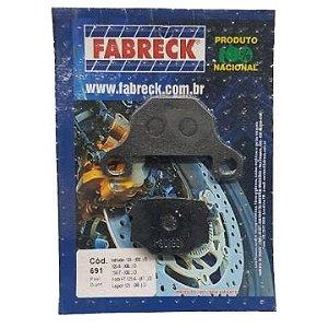 Pastilha de Freio Fabreck 691