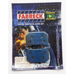 Pastilha de Freio Fabreck 641