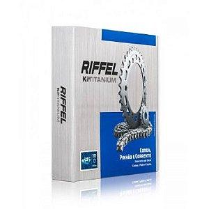 Kit Relação Honda CG160 Riffel Titanium