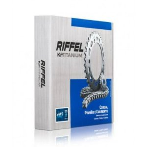 Kit Relação Yamaha Fazer 150 Riffel Titanium