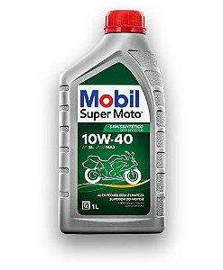 Óleo de Motor Mobil Super Moto 4T MX 10W40
