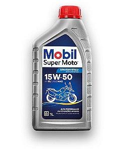 Óleo de Motor Mobil Super Moto 4T MX 15W50