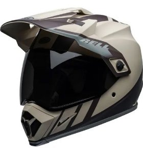 Capacete Bell MX9 Adventure MIPS Dash Sand Brown Grey