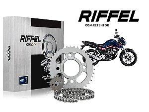 Kit Relação Honda CG150 CG160 Riffel Top