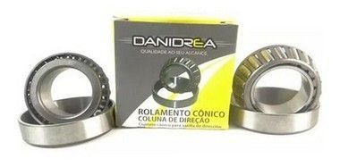 Rolamento Caixa de Direção Honda NXR125 NXR150 Bros XLR NX350 Tornado Falcon XR200 Danidrea