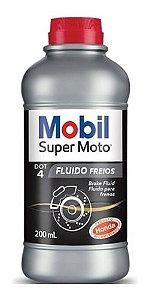 Fluido de Freio DOT 4 Mobil 200ml