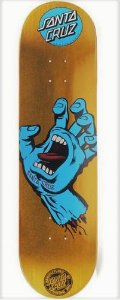 "SHAPE SANTA CRUZ POWERLYTE SCREAMING HAND GOLD 8.5"""