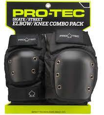 PROTEC Combo Pack Joelheira e Cotoveleira
