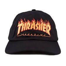 Boné Thrasher Magazine Flame