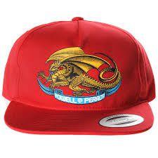 Boné Powell Peralta Dragon Red
