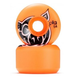 RODA PIG HEAD C LINE 54MM  ORANGE