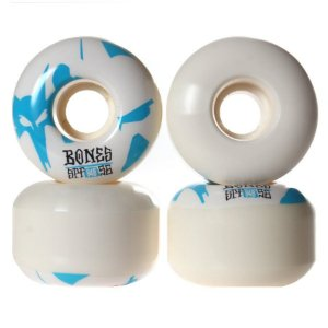 RODA BONES REFLECTION 56MM BLUE 104A