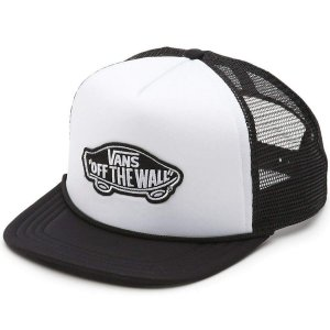 BONE VANS CLASSIC PATCH TRUCK WHITE/BLACK